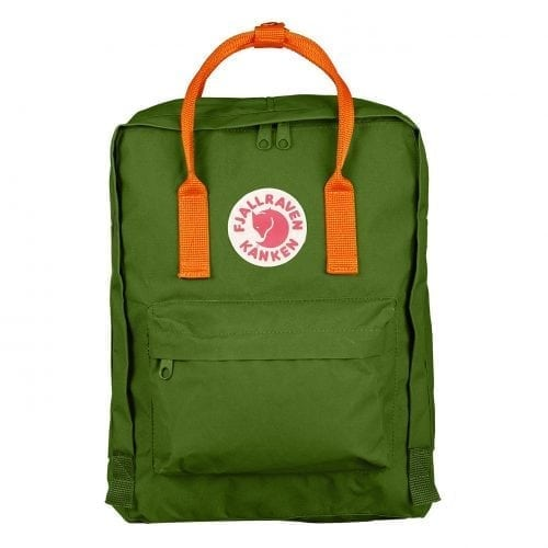 Fjallraven Kanken Classic Leaf Green & Burnt Orange