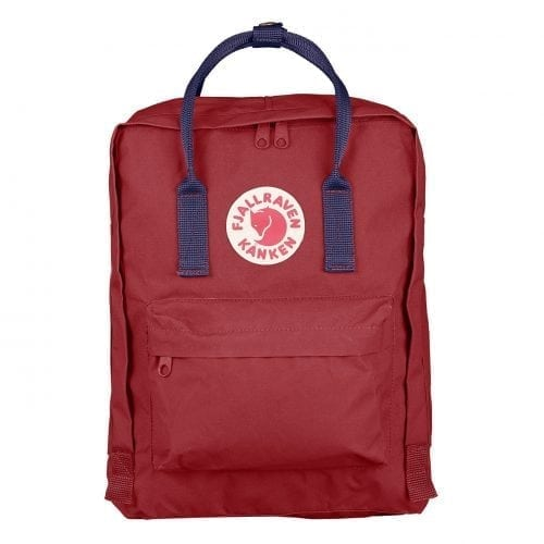 Fjallraven Kanken Classic Ox Red & Royal Blue