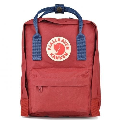 Fjallraven Kanken Mini Ox Red & Royal Blue