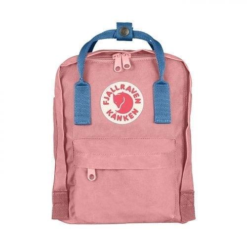 Fjallraven Kanken Mini Pink & Air Blue