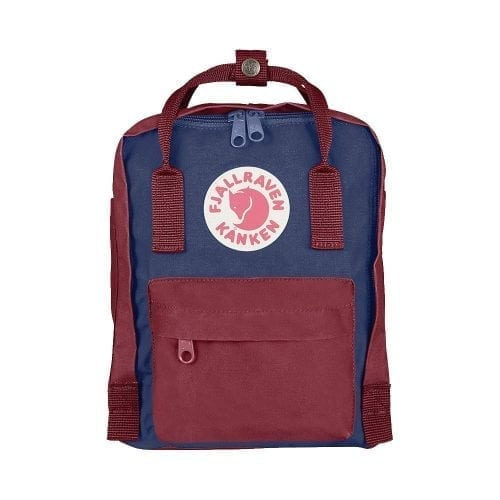 Fjallraven Kanken Mini Royal Blue & Ox Red