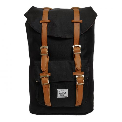 Herschel Little America Black & Tan Backpack