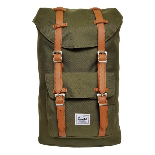 Herschel Little America Forest Night & Tan Backpack