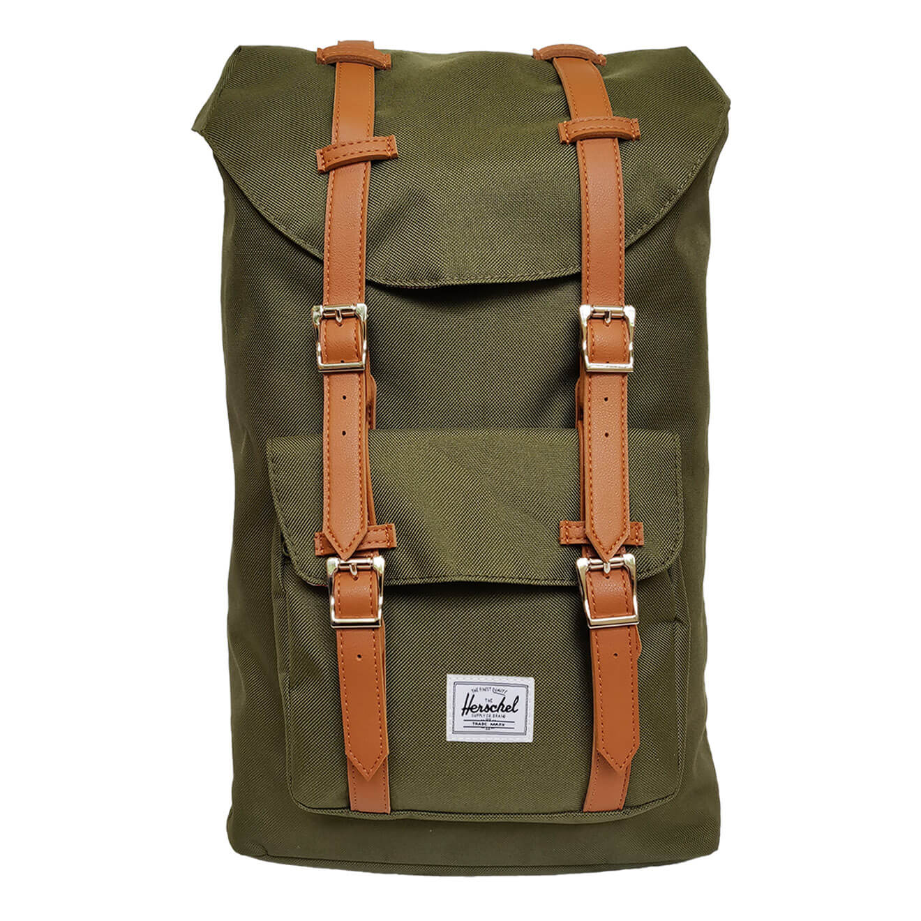 8579f286346 Herschel Little America Forest Night   Tan - Retro Bags