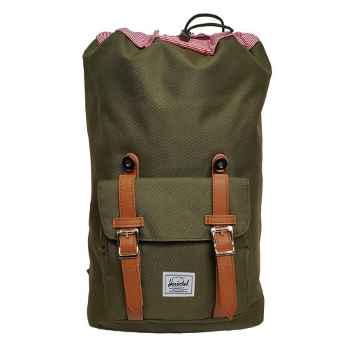 Herschel Little America Forest Night & Tan Backpack