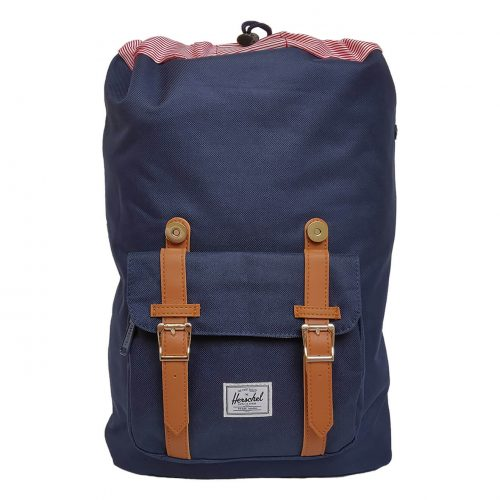 Herschel Little America Navy & Tan Backpack