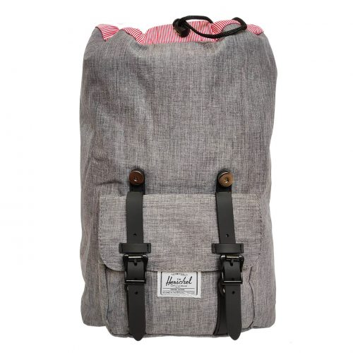 Herschel Little America Raven Crosshatch & Black Backpack