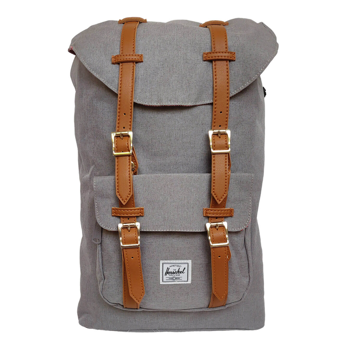 14fafdd27c4 Herschel Little America Grey   Tan - Retro Bags