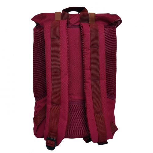Herschel Little America Wine Red Tan Backpack