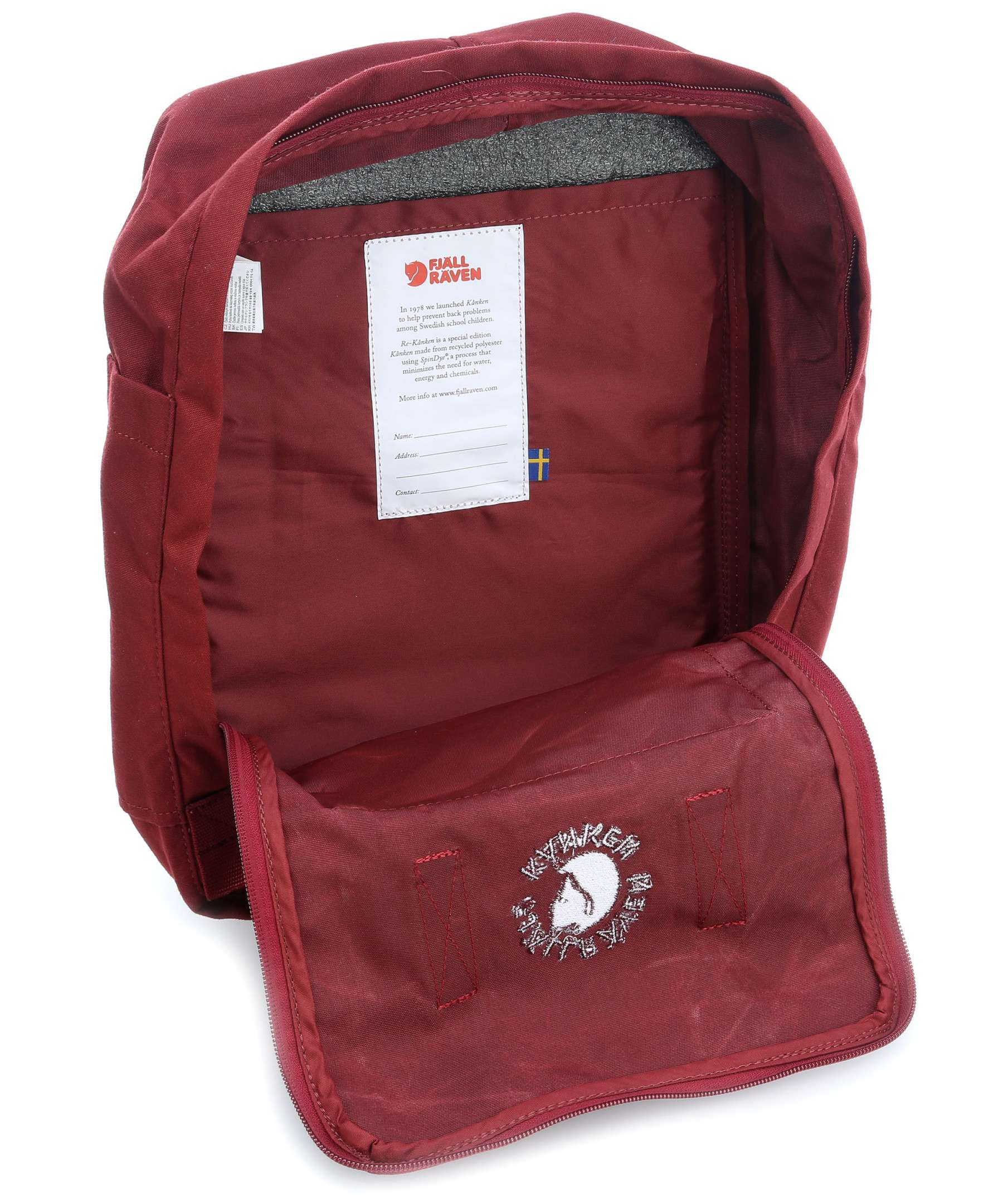 pretty cool great fit famous brand Fjallraven Re-Kanken Classic Windsor Wine