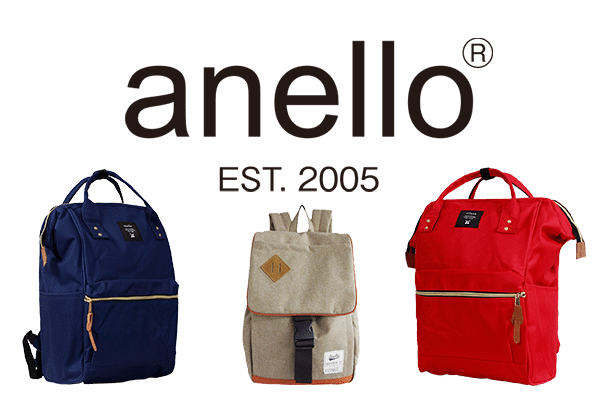 Anello Japan Tote Bags & Backpacks
