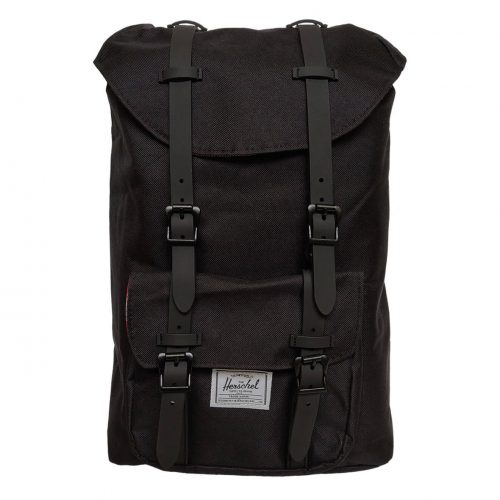 Herschel Little America Black & Black Backpack