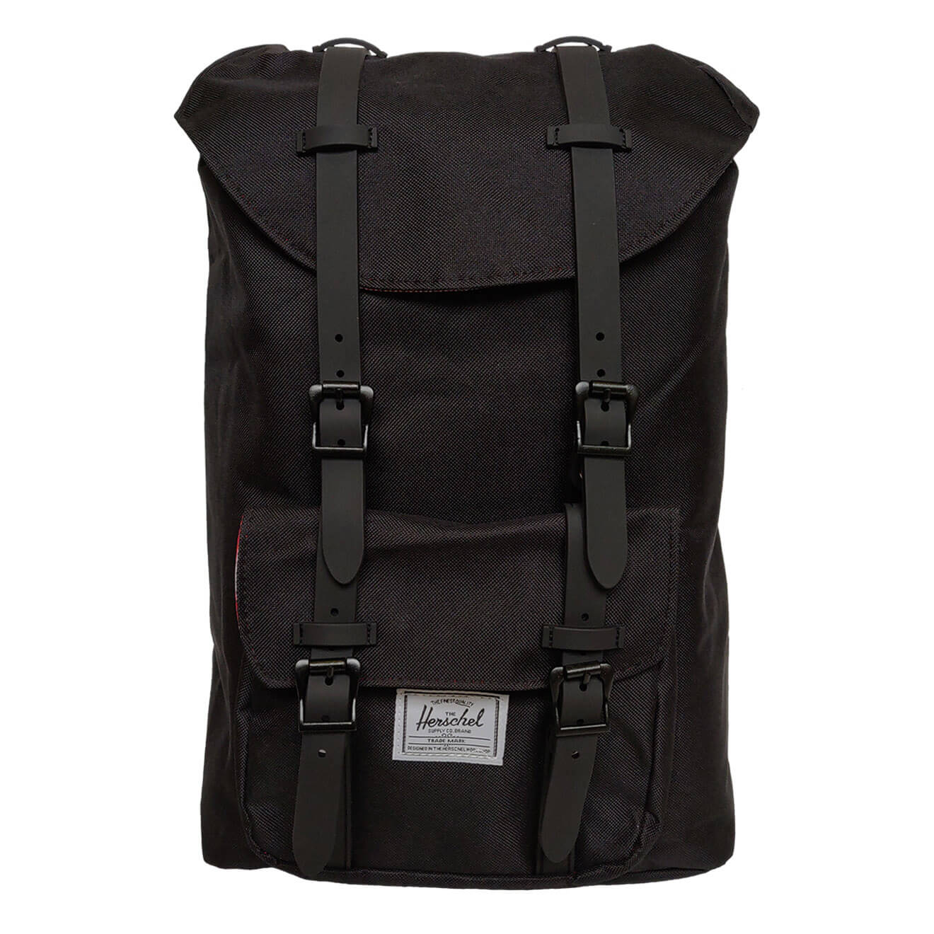 e43b890865a Herschel Little America Black   Black Backpack - Retro Bags